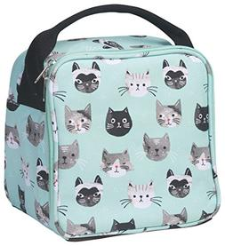 Now Designs Let's Do Lunch Bag, Cats Meow