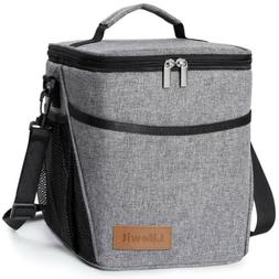 9L Portable Insulated Lunch Bag Box For Work Office School A