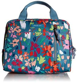Vera Bradley Lighten Up Lunch Cooler, Polyester, Superbloom