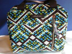 Vera Bradley Lighten Up Lunch Cooler insulated bag in Rain F