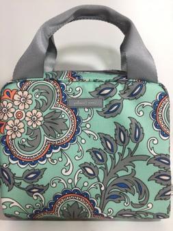 Vera Bradley Lighten Up Lunch Bag Fan Flowers Print NWT Free