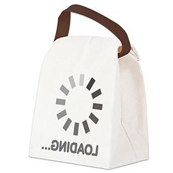 CafePress - Loading bar internet Canvas Lunch Bag - Canvas L