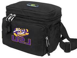 Broad Bay LSU Lunch Bag OFFICIAL NCAA LSU Tigers Lunchboxes