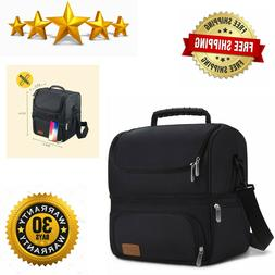 Lunch Box, Insulated Bag For Men, Women And Reusable Waterpr