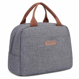 LOKASS Lunch Bag Cooler Bag Women Tote Insulated Lunch Box