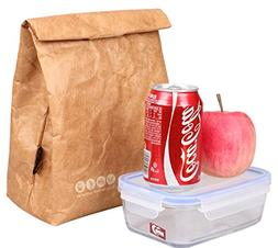 SANNE Lunch Bag Box Cooler Bag Insulated Retro Style Holiday