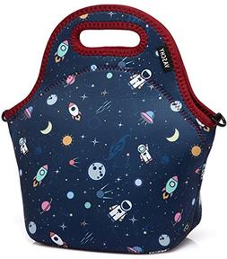 VASCHY Lunch Box Bag for Kids, Neoprene Insulated Lunch Tote