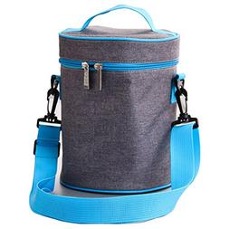 Lunch Bag Insulate Cooler Tote Bag Lunch Box Container Holde