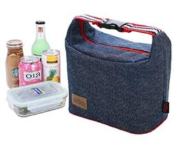Rayhee Lunch Bag Insulated Lunch Cooler Bags Reusable Handba