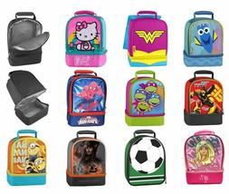 Lunch Bag Kids Insulated Box Children Boy Girl Thermal Therm