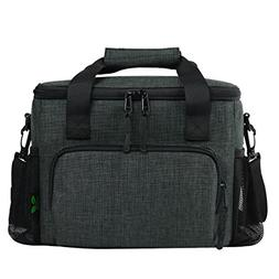 Large Lunch Bag Soft Cooler Bag, Leakproof Insulated Lunch B