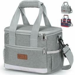 Lunch Bag Tote Cooler Bag for Boys, Girls, Kids Leakproof Lu