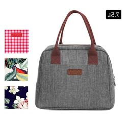 Lunch Bag Totes Insulated Cooler Large Bento for Men Women A