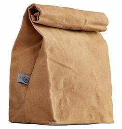COLONY CO. Lunch Bag | Waxed Canvas | Durable | Biodegradabl