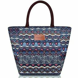 Lunch Bag Women Insulated Tote Large Capacity Kitchen &amp
