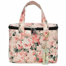 """Lunch Bags Box Cooler Lunch Bag Flower  Kitchen """" Dining"""