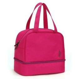 Lunch Bags for Women Insulated Two Compartment Lunch Boxes f