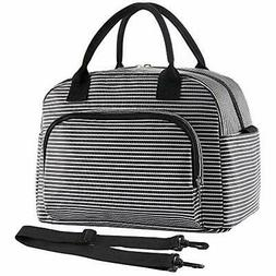 Lunch Bags Large For Women Men, Insulated Tote Work With Det