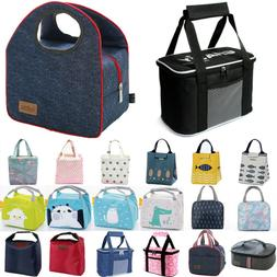 Insulated Large Lunch Bag Mini Cooler With Shoulder Strap fo