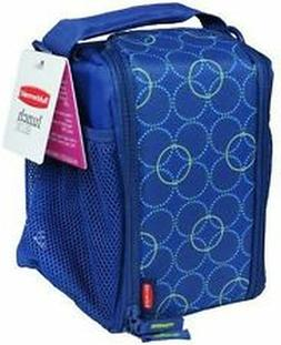 lunch blox insulated lunch bag 18137779 blue