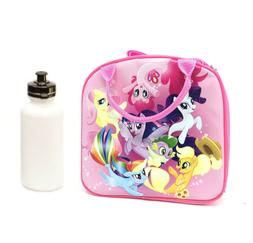 My Little Pony Lunch Box Bag with Shoulder Strap and Water B