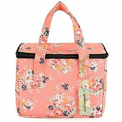 "Lunch Box Cooler Bag Bags Lunch Bag Flower  Kitchen "" Dining"