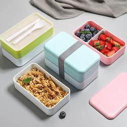Lunch Box for Kids Food Container Double Microwave Japan Ben