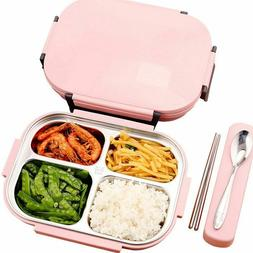 Lunch Box Thermal Stainless Steel Thermos Set Kid Adult Food