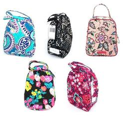 Vera Bradley Lunch Bunch Insulated Bag ID Slot Wipe Clean In