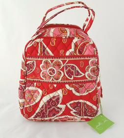 Vera Bradley Lunch Bunch  Bag In Rosy Posies Tote NEW with T