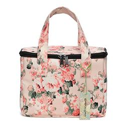 WONDERFUL FLOWER Lunch Box Cooler Bag lunch bag flower