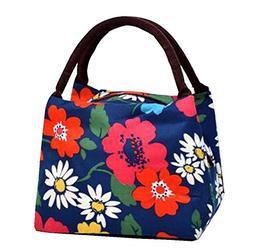 Black Temptation 2 Pcs Lunch Box Handbag Waterproof Hand Bag