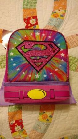 DC Super Hero Girls Lunch Box With a Bonus Detachable Cape!