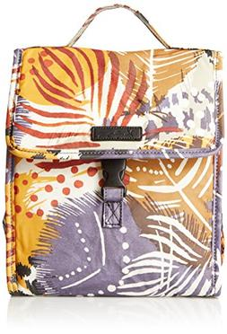 Vera Bradley Lunch Sack, Painted Feathers