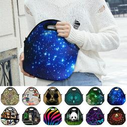 Man/Womens Insulated Lunch Bags Portable Travel Outdoor Picn