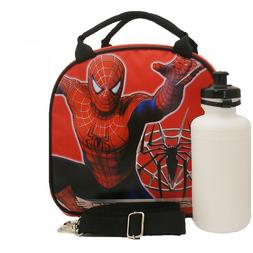 Marvel Amazing Spider-man Lunch Box Bag with Shoulder Strap