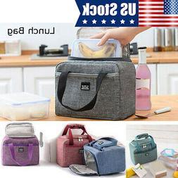 Medium Lunch Bag for Men Women Work Kid School Food Thermal