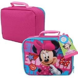 Disney Minnie Mouse Girls Lunch Box One Size Pink/multi