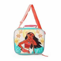 Disney Moana Insulated Lunch Bag Box with Shoulder Strap, Li