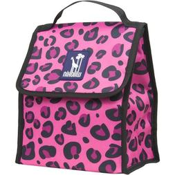 Pink Leopard Munch and Lunch Bag