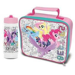 My Little Pony Besties Insulated Lunch Bag and Cascade Drink