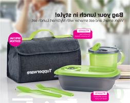Tupperware MySmart Microwaveable Lunch Set w Leakproof Soup
