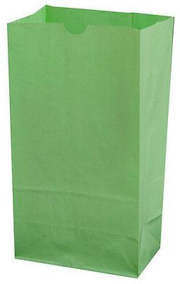 Neon Color LIME GREEN Paper bags AS LOW AS 25¢ ea BIRTHDAY