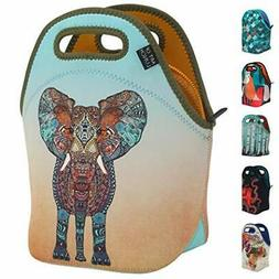 ART OF LUNCH Neoprene Lunch Bag - Artist Monika Strigel  and