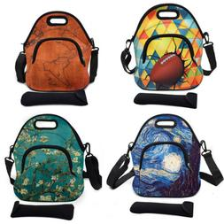 Neoprene Insulated Lunch Bag Large Thermal Storage Box Tote