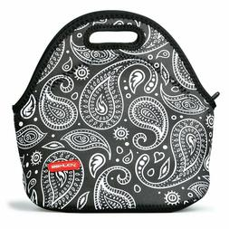 Neoprene Insulated Lunch Bag , Small Portable Thermal Storag