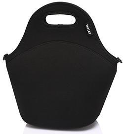 VASCHY Neoprene Insulated Lunch Bag Tote for Men or Women 12