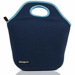 - InsigniaX Neoprene Lunch Bag Cool Box/Cooler/Lunchbox For