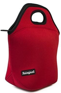 Neoprene Lunch Bag: InsigniaX Cool Lunch Box/Cooler/Lunchbox