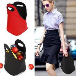 Neoprene Lunch Bag Thick Insulated Durable Waterproof Lunch